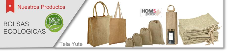 0ae412ee8 Bolsas de Yute 100% Material Ecológico y biodegradable.